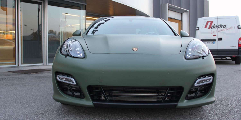 Carrozzeria Destro Auto Car Wrapping Padova Veneto Porsche