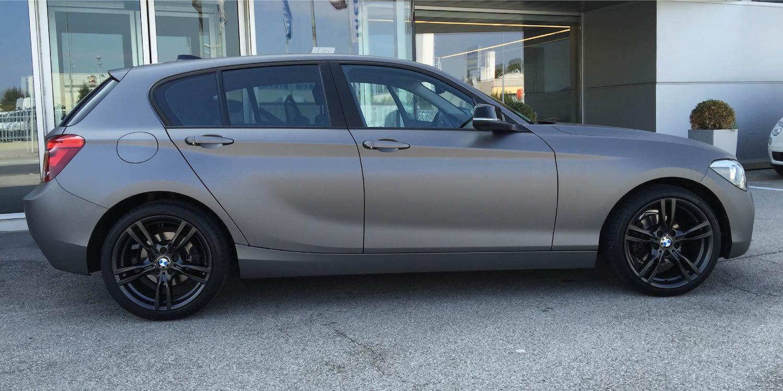 Wrapping Auto Carrozzeria Destro Padova Limena nero opaca
